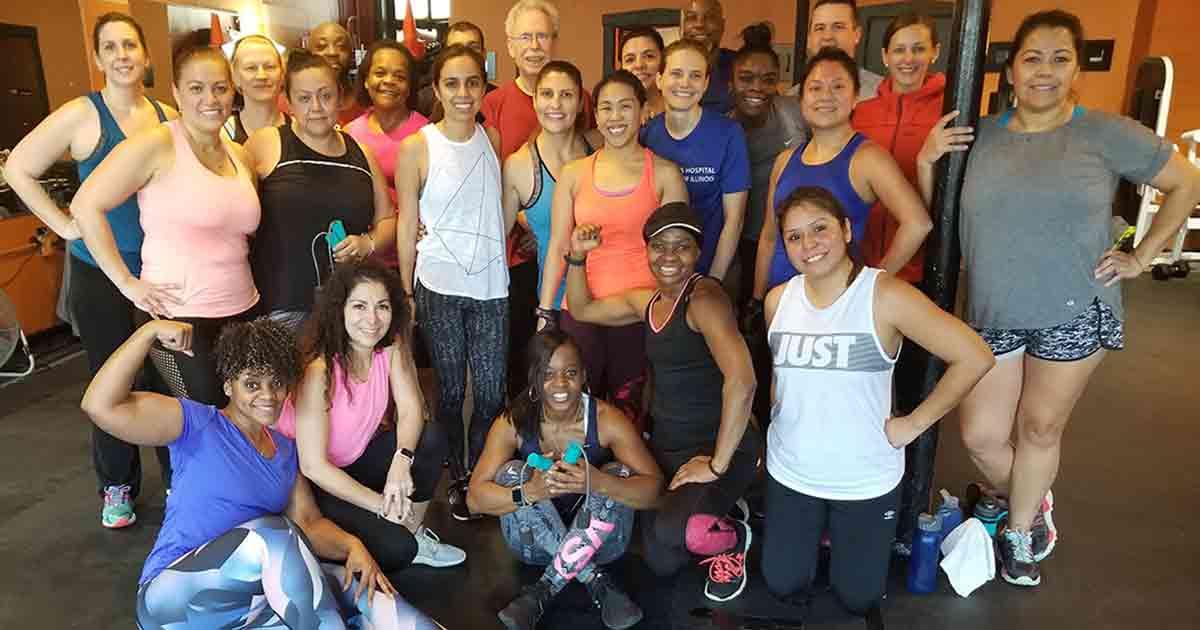 oak-park-group-fitness-class